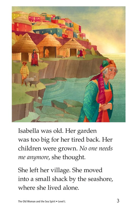 Book Preview For The Old Woman and the Sea Spirit Page 3