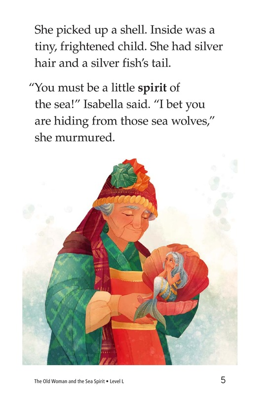 Book Preview For The Old Woman and the Sea Spirit Page 5