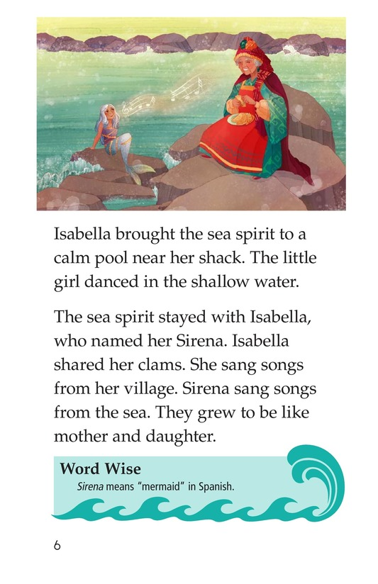 Book Preview For The Old Woman and the Sea Spirit Page 6