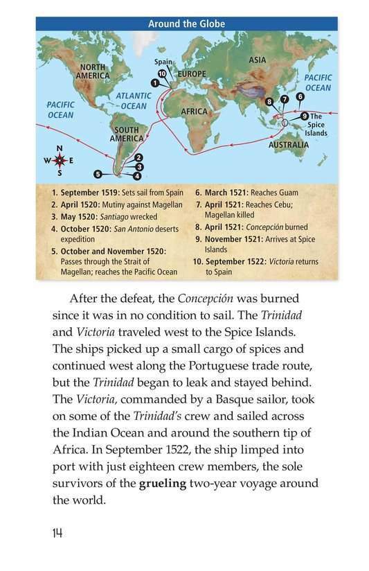 Book Preview For Ferdinand Magellan Page 14