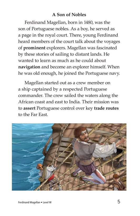 Book Preview For Ferdinand Magellan Page 5