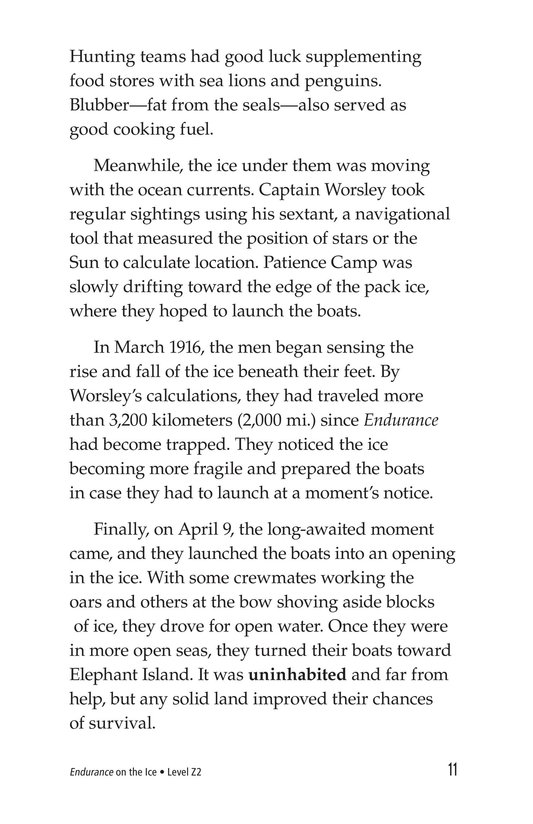 Book Preview For Endurance on the Ice Page 11