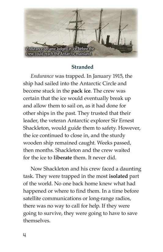 Book Preview For Endurance on the Ice Page 4