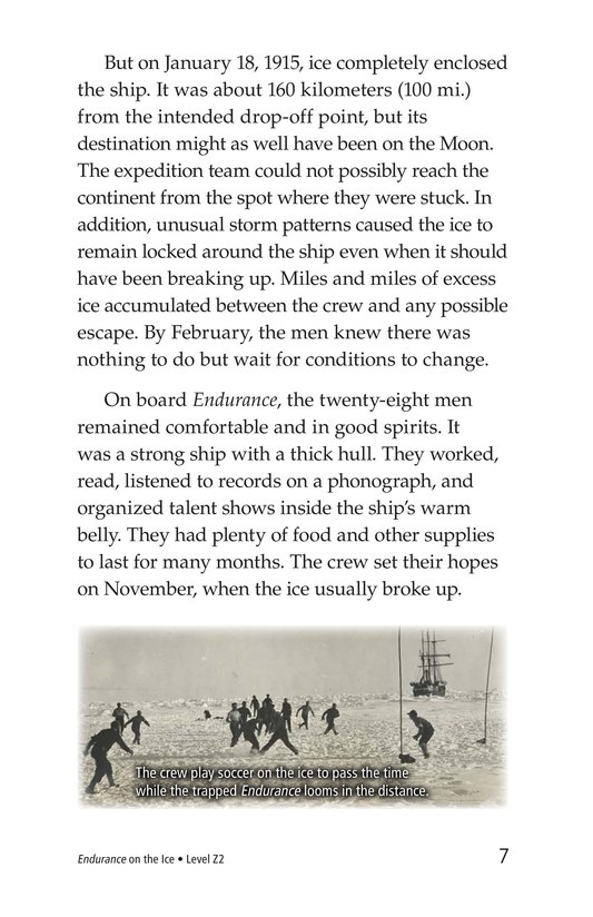 Book Preview For Endurance on the Ice Page 7