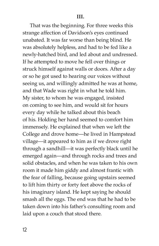 Book Preview For The Remarkable Case of Davidson's Eyes Page 12