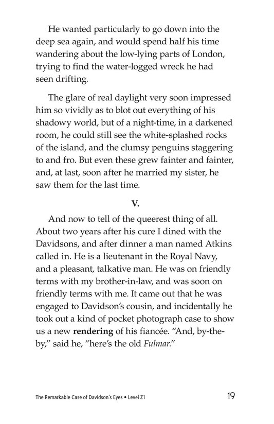 Book Preview For The Remarkable Case of Davidson's Eyes Page 19