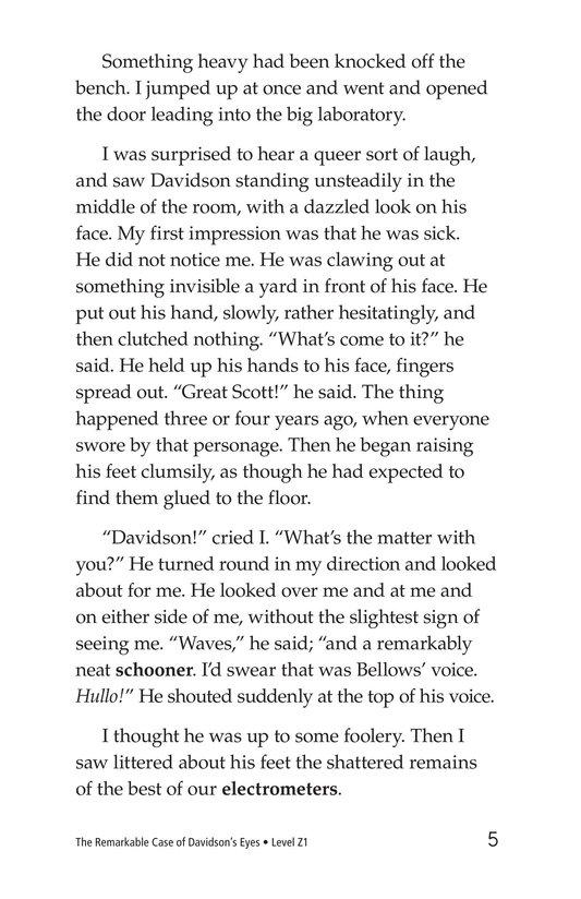 Book Preview For The Remarkable Case of Davidson's Eyes Page 5