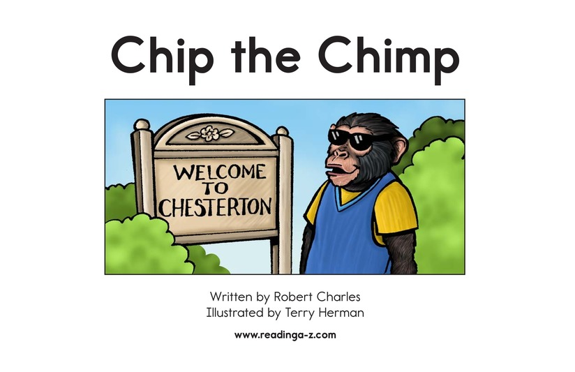 Book Preview For Chip the Chimp Page 2