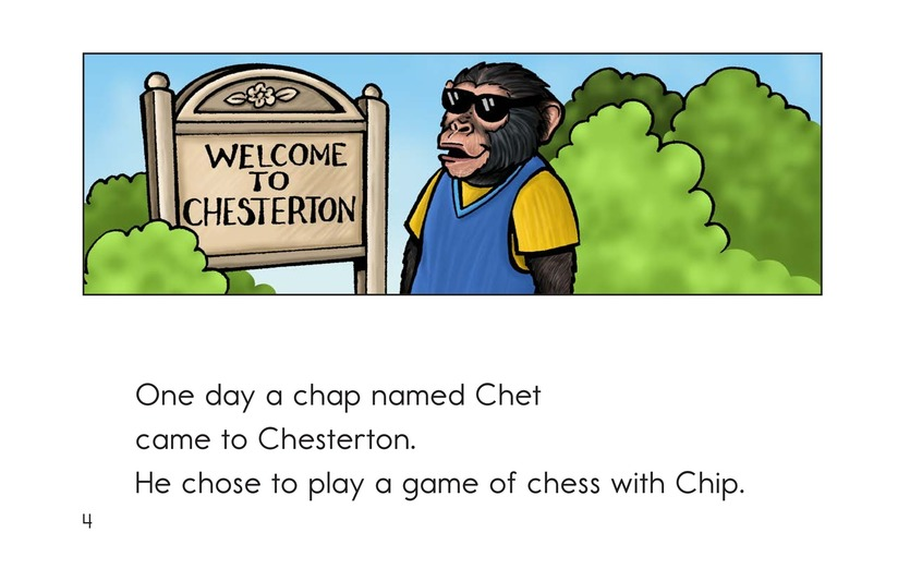 Book Preview For Chip the Chimp Page 4