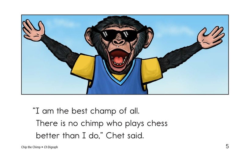 Book Preview For Chip the Chimp Page 5