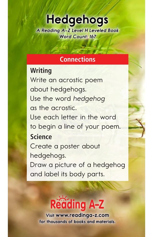 Book Preview For Hedgehogs Page 17