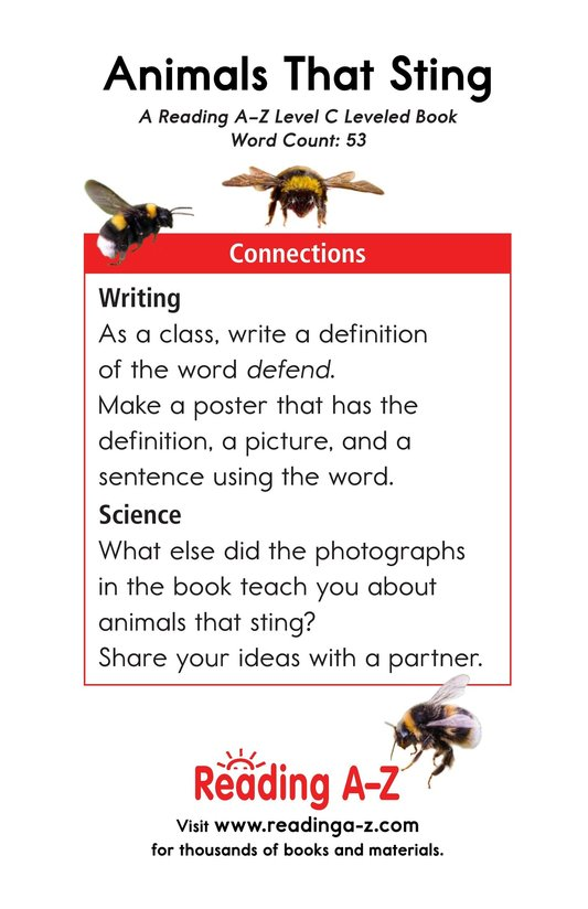 Book Preview For Animals That Sting Page 11