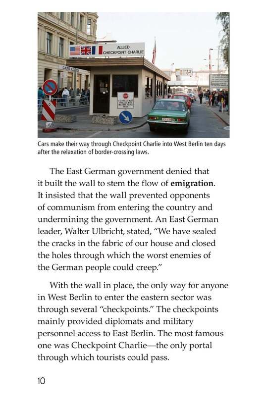 Book Preview For The Berlin Wall Page 10