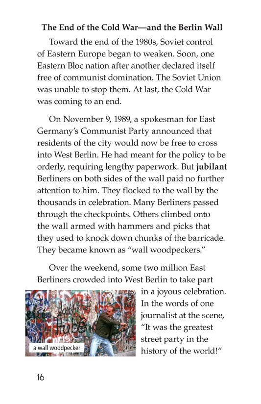 Book Preview For The Berlin Wall Page 16
