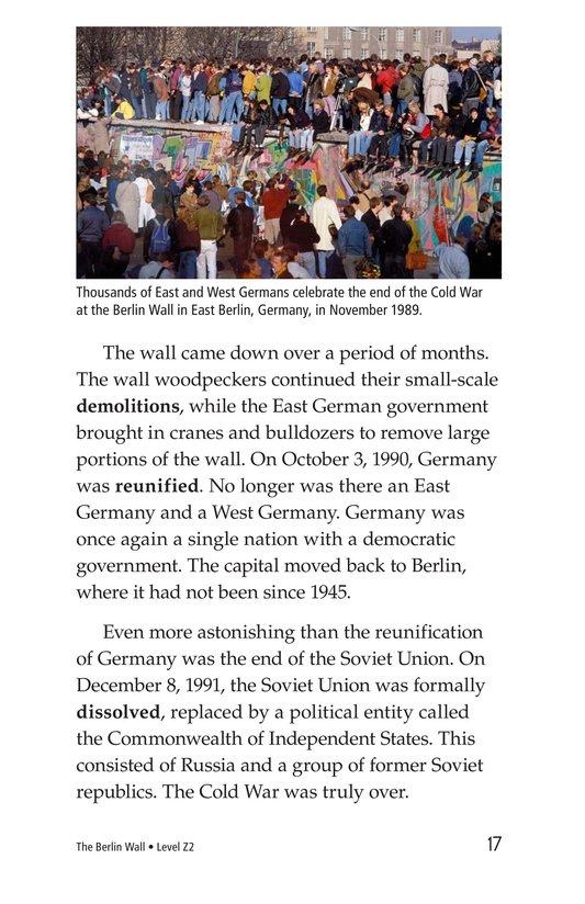 Book Preview For The Berlin Wall Page 17