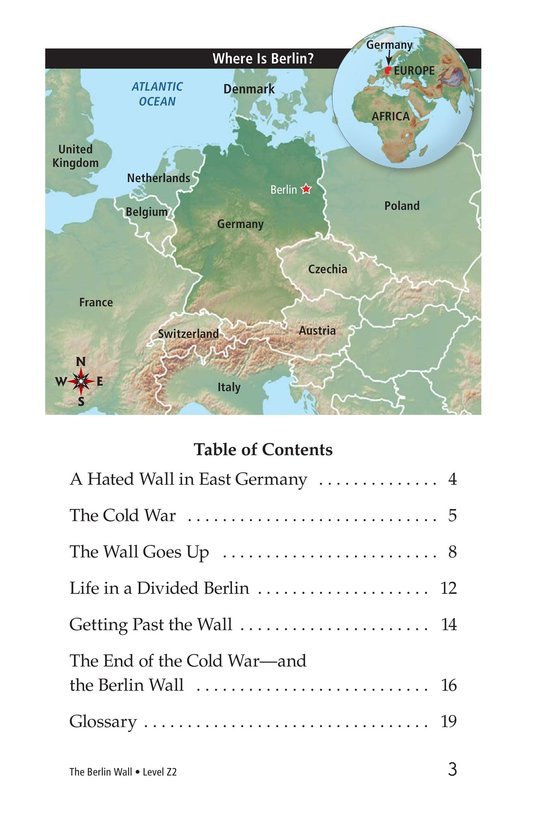 Book Preview For The Berlin Wall Page 3