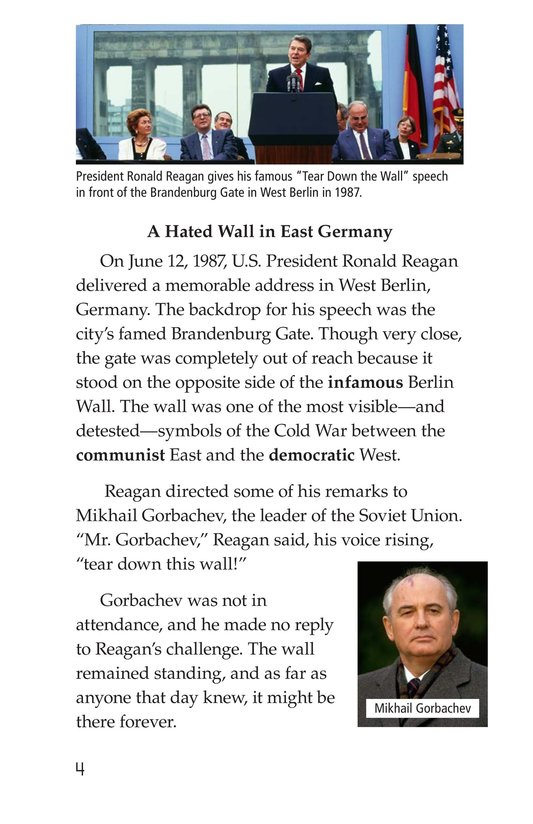 Book Preview For The Berlin Wall Page 4