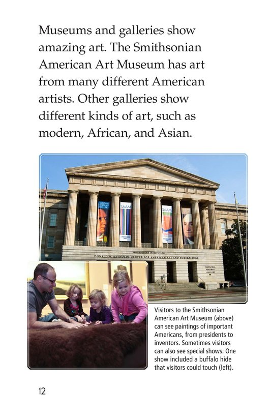 Book Preview For What's in Washington, D.C.? Page 12