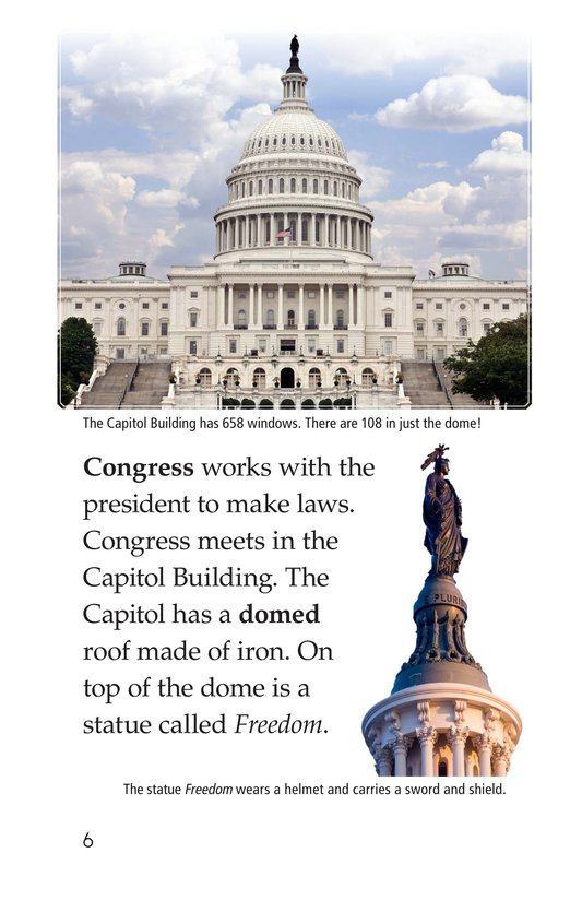 Book Preview For What's in Washington, D.C.? Page 6