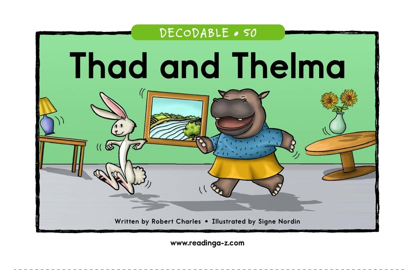 Book Preview For Thad and Thelma Page 1