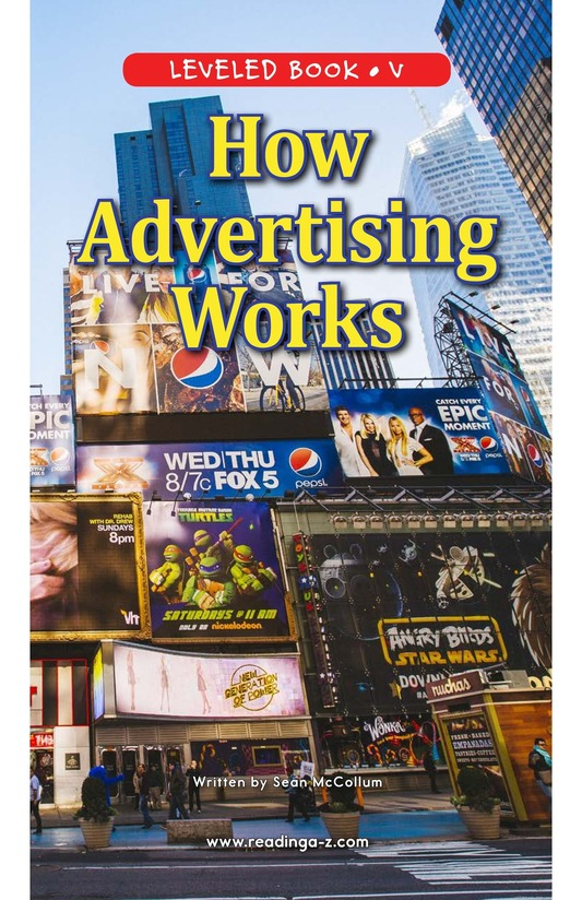Book Preview For How Advertising Works Page 0