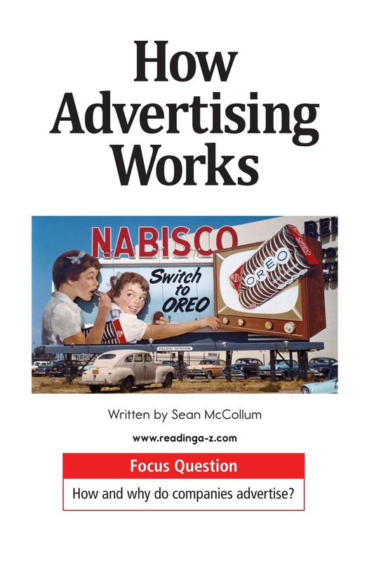 Book Preview For How Advertising Works Page 1