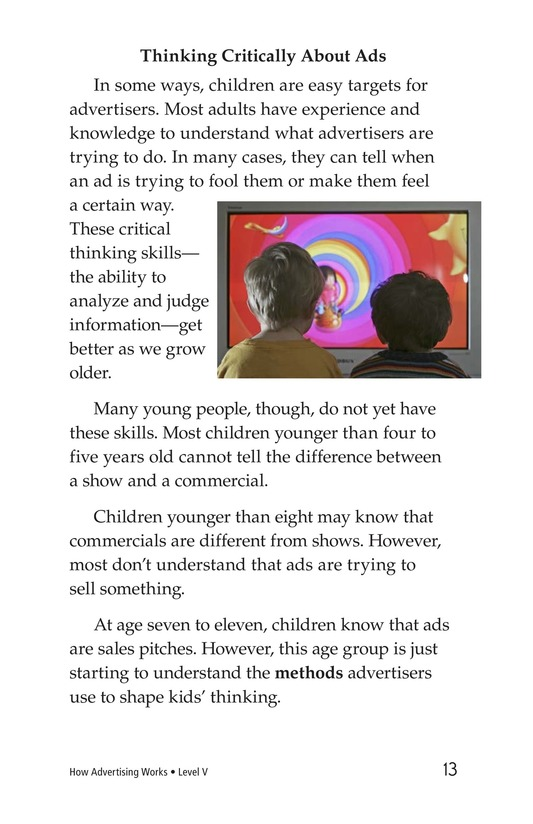 Book Preview For How Advertising Works Page 13