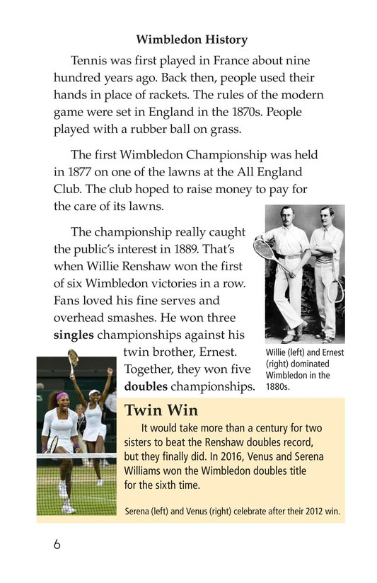Book Preview For Wimbledon Page 6