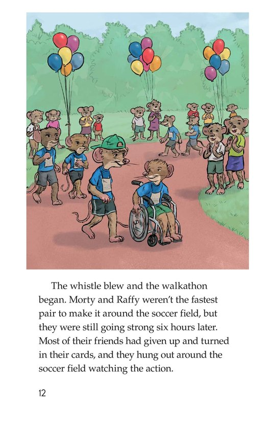 Book Preview For Morty and the Walkathon Page 12