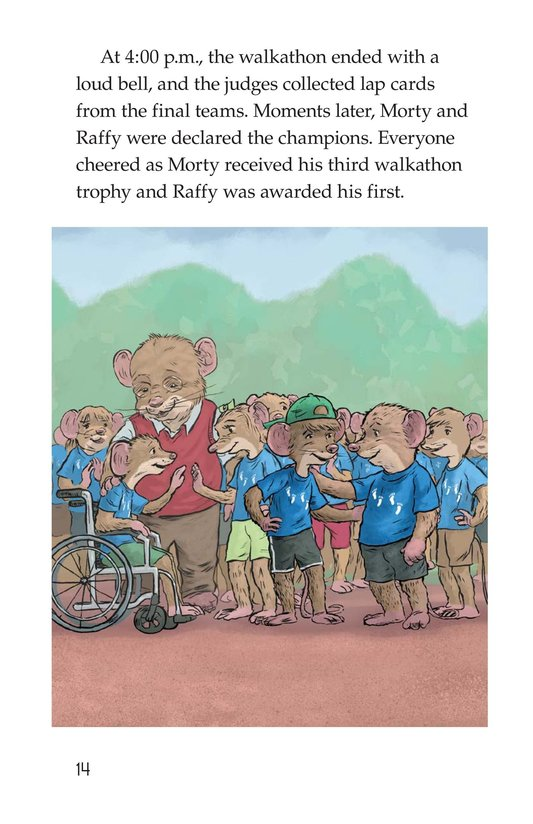 Book Preview For Morty and the Walkathon Page 14