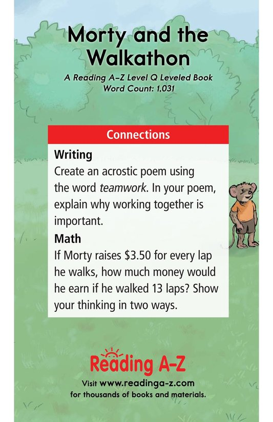 Book Preview For Morty and the Walkathon Page 17