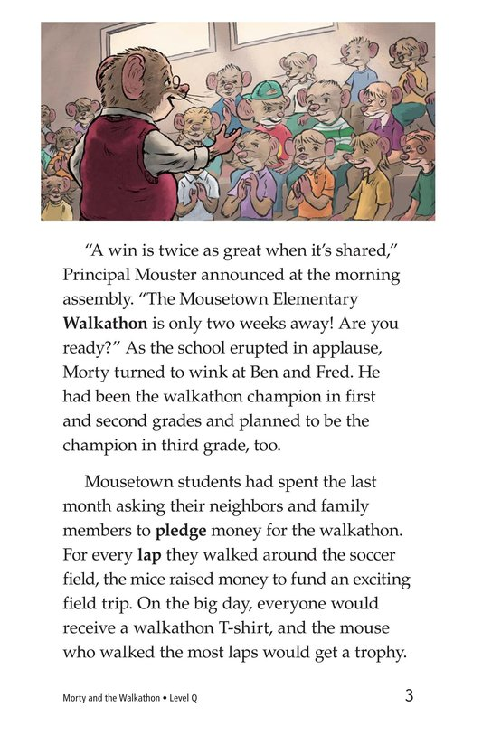Book Preview For Morty and the Walkathon Page 3