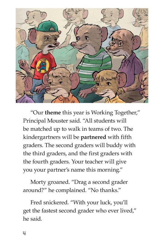 Book Preview For Morty and the Walkathon Page 4