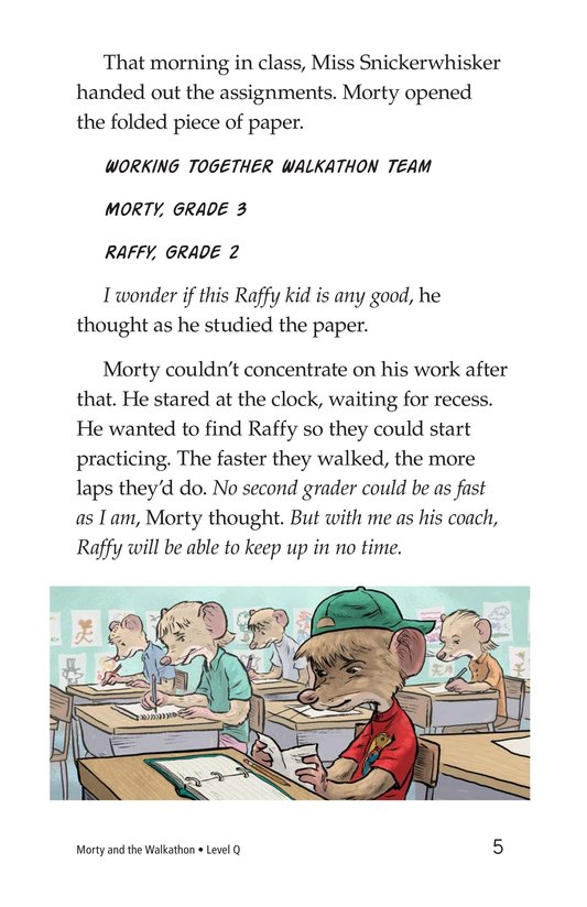 Book Preview For Morty and the Walkathon Page 5