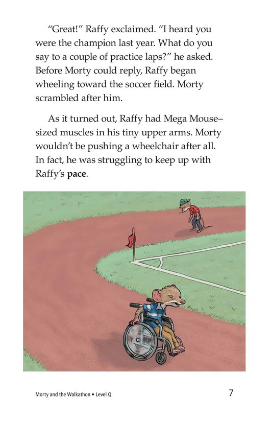 Book Preview For Morty and the Walkathon Page 7