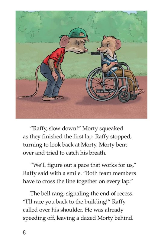 Book Preview For Morty and the Walkathon Page 8