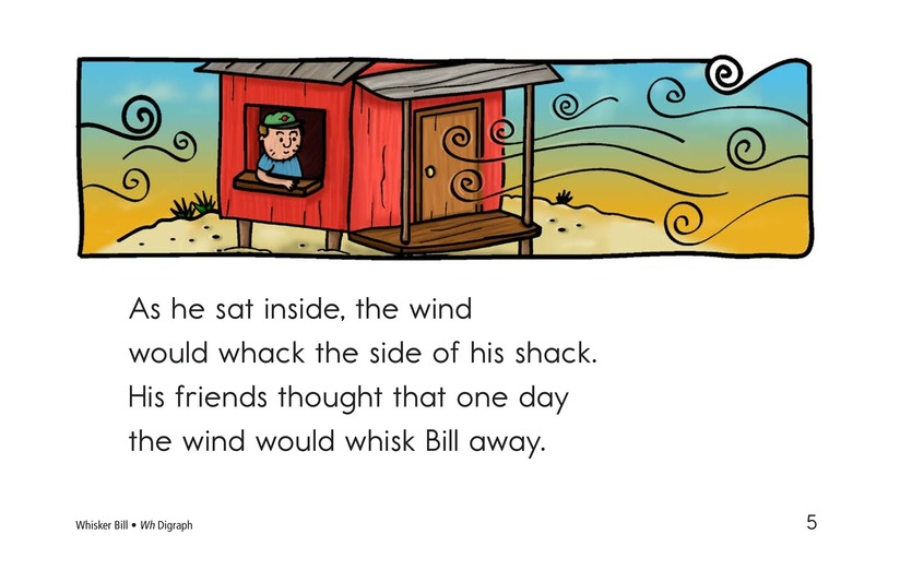 Book Preview For Whisker Bill Page 5