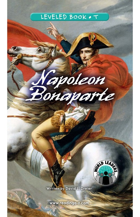 Book Preview For Napoleon Bonaparte Page 0