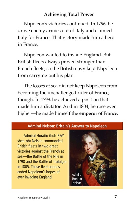 Book Preview For Napoleon Bonaparte Page 7