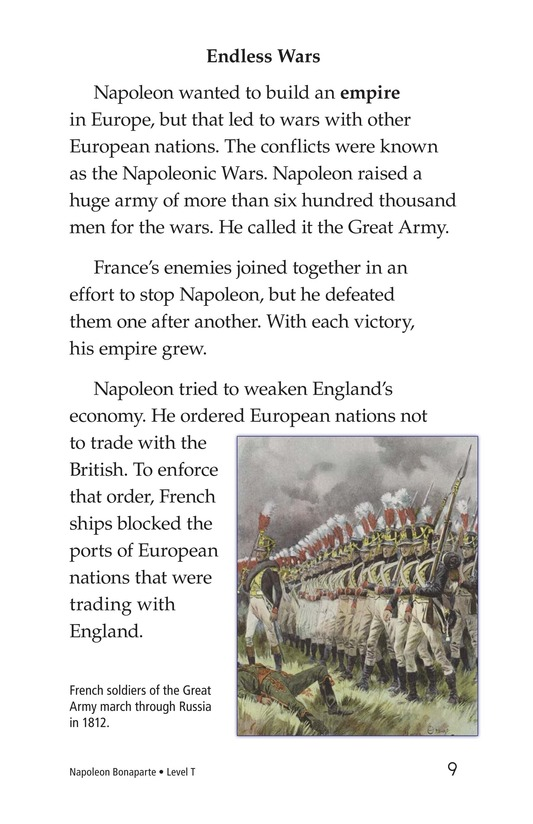 Book Preview For Napoleon Bonaparte Page 9