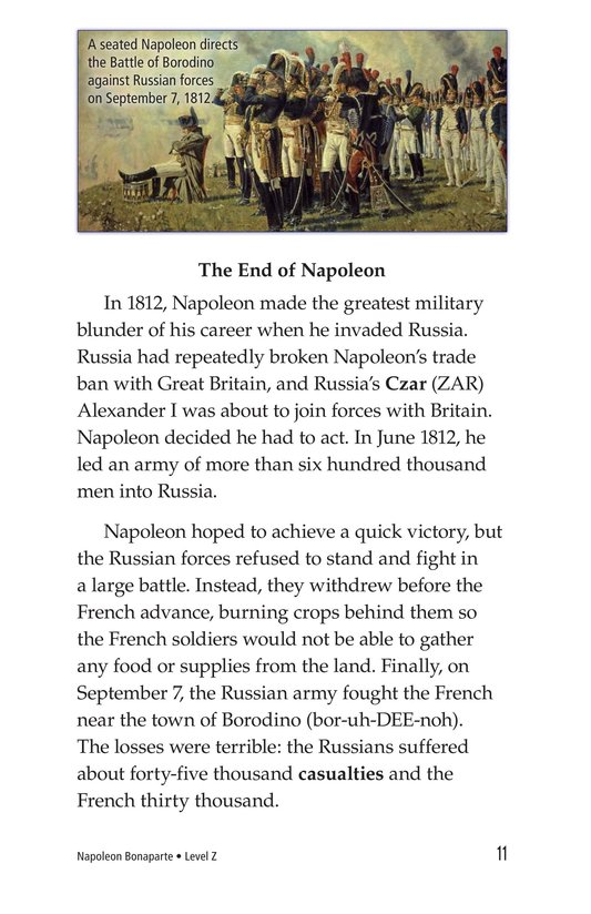 Book Preview For Napoleon Bonaparte Page 11