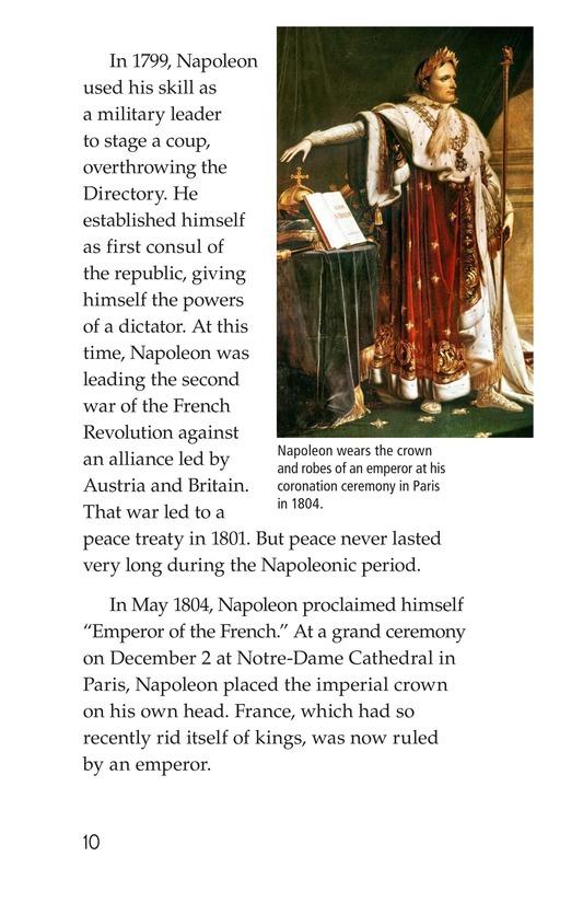 Book Preview For Napoleon Bonaparte Page 10