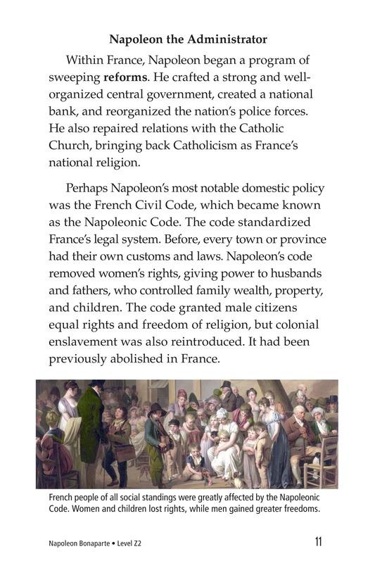 Book Preview For Napoleon Bonaparte Page 11