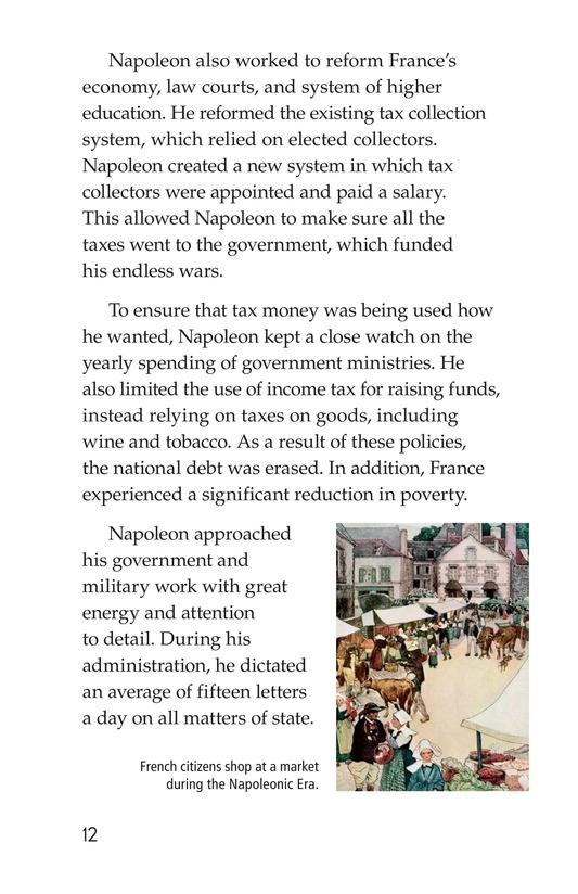 Book Preview For Napoleon Bonaparte Page 12