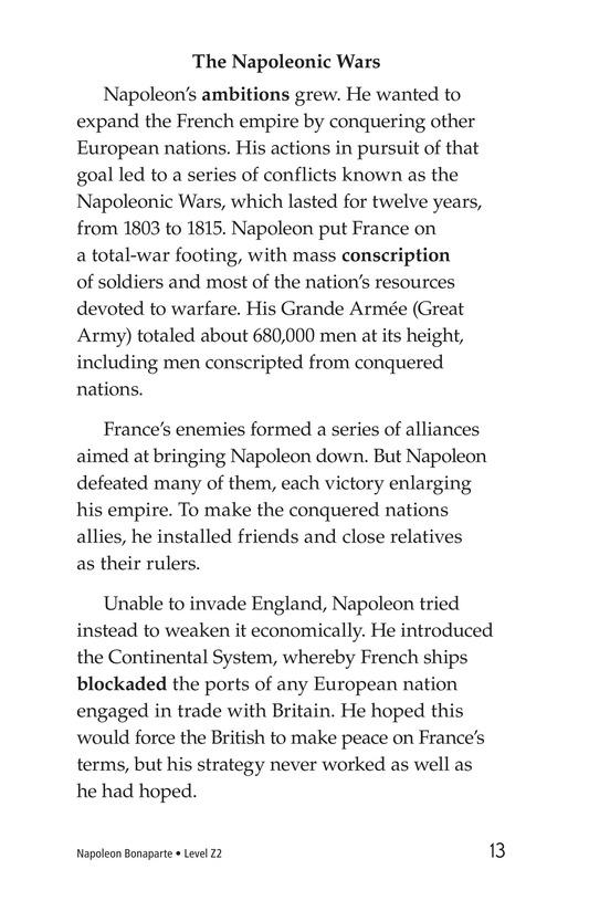 Book Preview For Napoleon Bonaparte Page 13