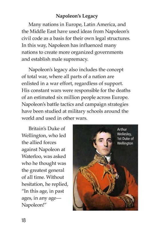 Book Preview For Napoleon Bonaparte Page 18