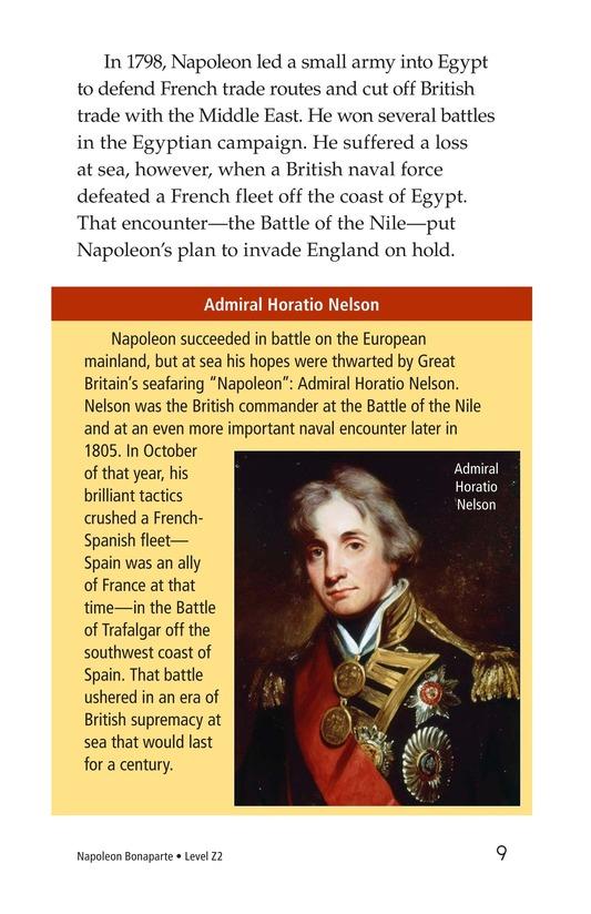 Book Preview For Napoleon Bonaparte Page 9