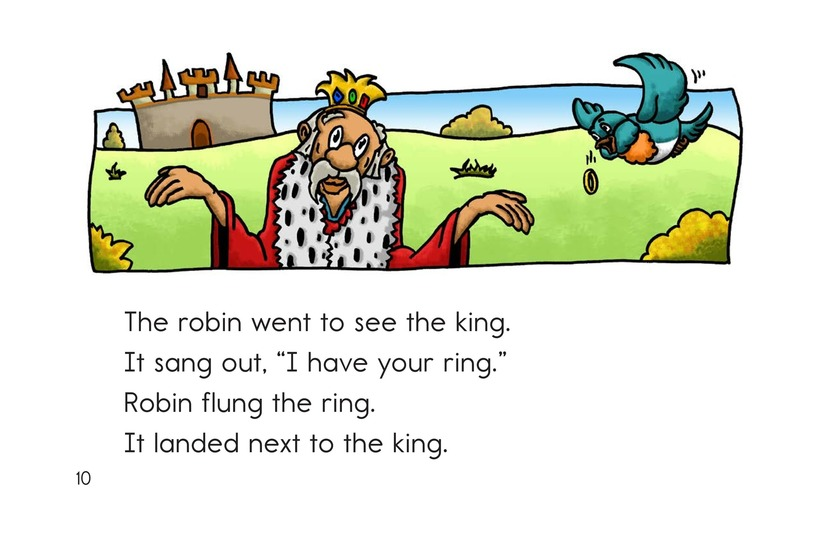 Book Preview For The King Lost His Ring Page 10