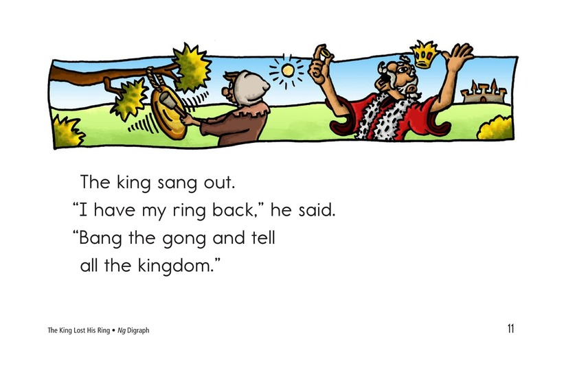 Book Preview For The King Lost His Ring Page 11