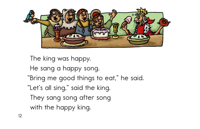 Book Preview For The King Lost His Ring Page 12